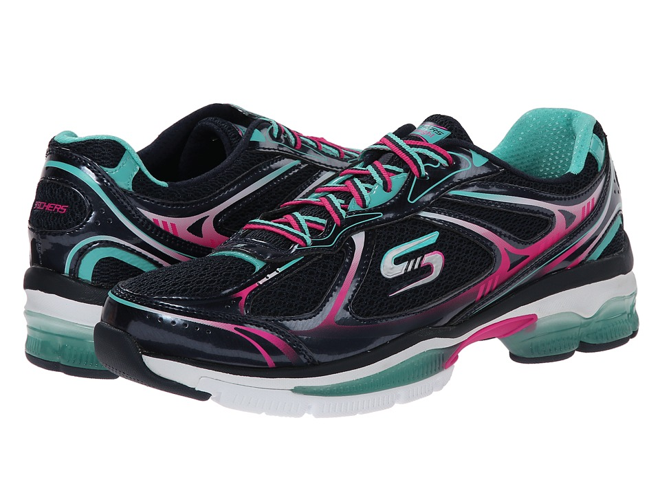 SKECHERS - Out There (Navy Multi) Women's Shoes