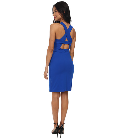 Susana Monaco - Crossback Dress (Sapphire) Women's Dress