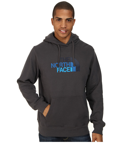 The North Face - Half Dome Hoodie (Graphite Grey Cosmic Blue) Men's Long Sleeve Pullover