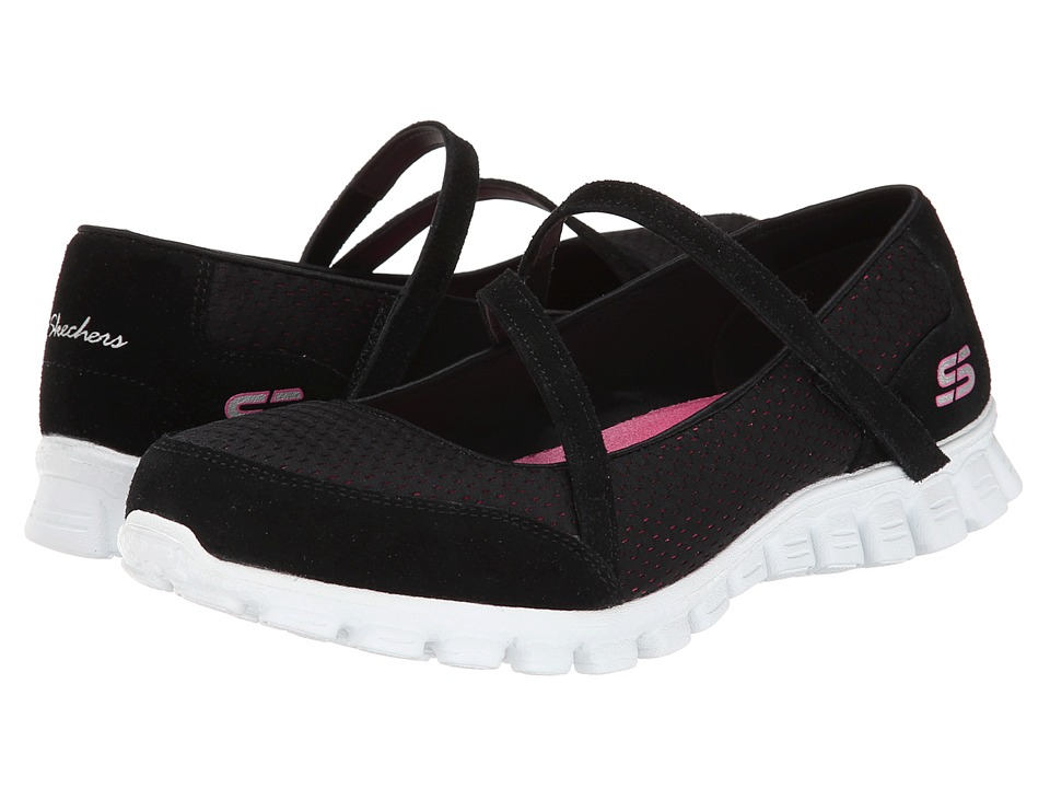 SKECHERS - A-Game (Black Pink) Women's Shoes
