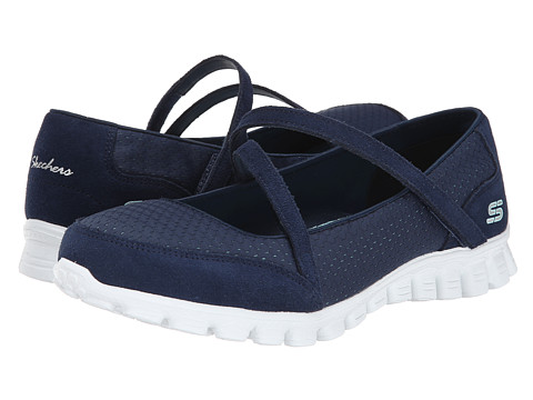 SKECHERS - A-Game (Navy Aqua) Women