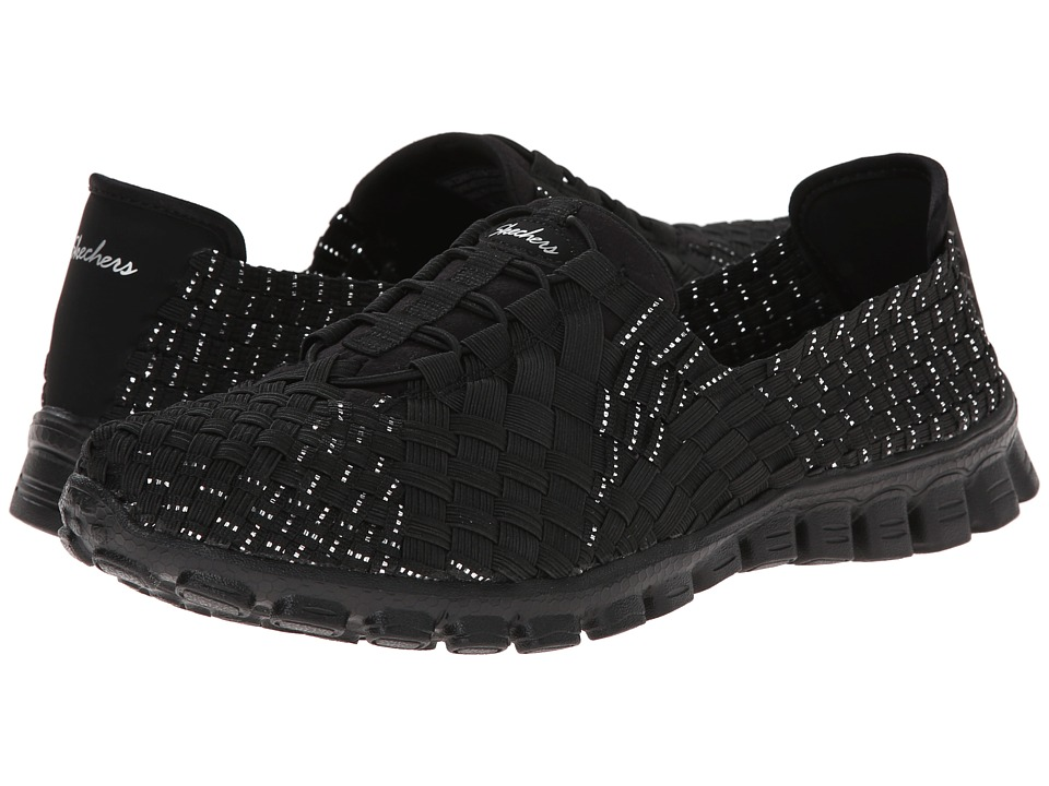 SKECHERS - Tada! (Black Silver) Women's Shoes