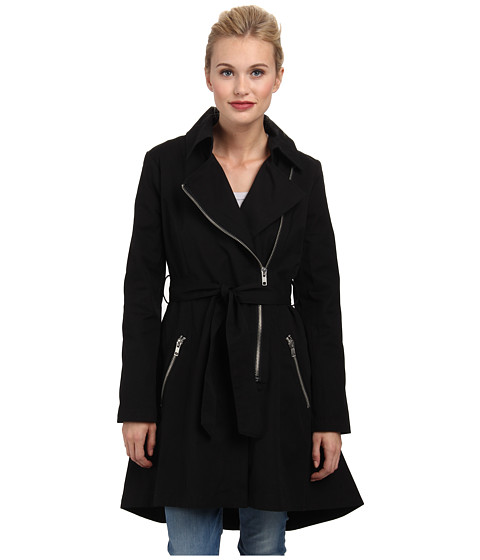 BB Dakota - Claret Coat (Black) Women's Coat