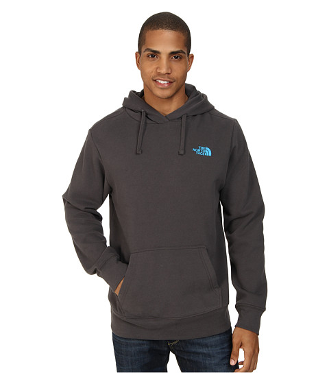 The North Face - EMB Logo Pullover Hoodie (Graphite Grey Blue) Men