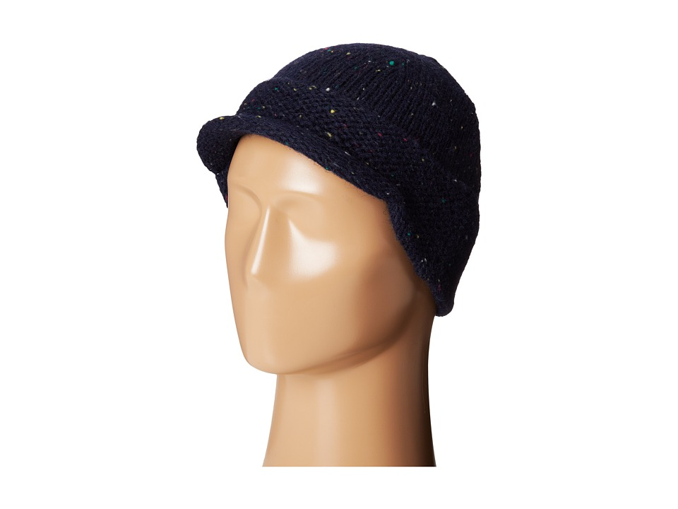 Woolrich - Wool Blend Radar (Navy) Knit Hats