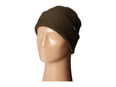 Woolrich - Oversized Ribbed Beanie (Olive) Beanies