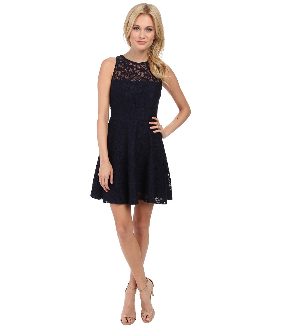 BB Dakota - Fenton Dress (Navy) Women's Dress