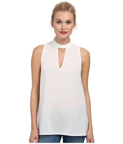 BB Dakota - Ronan Woven (Ivory) Women's Sleeveless