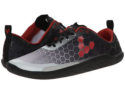 Vivobarefoot - Evo Pure (Black/Red) Men's Shoes