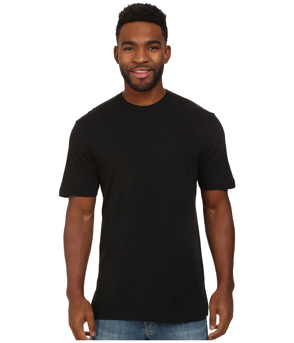 TravisMathew - Brewskie Tee w/ Bottle Open Patch (Black) Men
