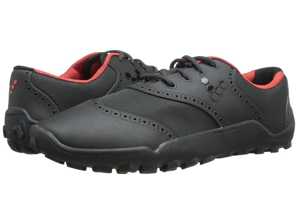 Vivobarefoot - Linx (Black/Red) Men's Golf Shoes