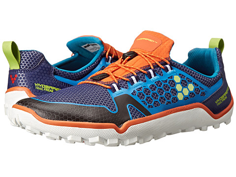Vivobarefoot - Trail Freak (Navy/Orange) Men