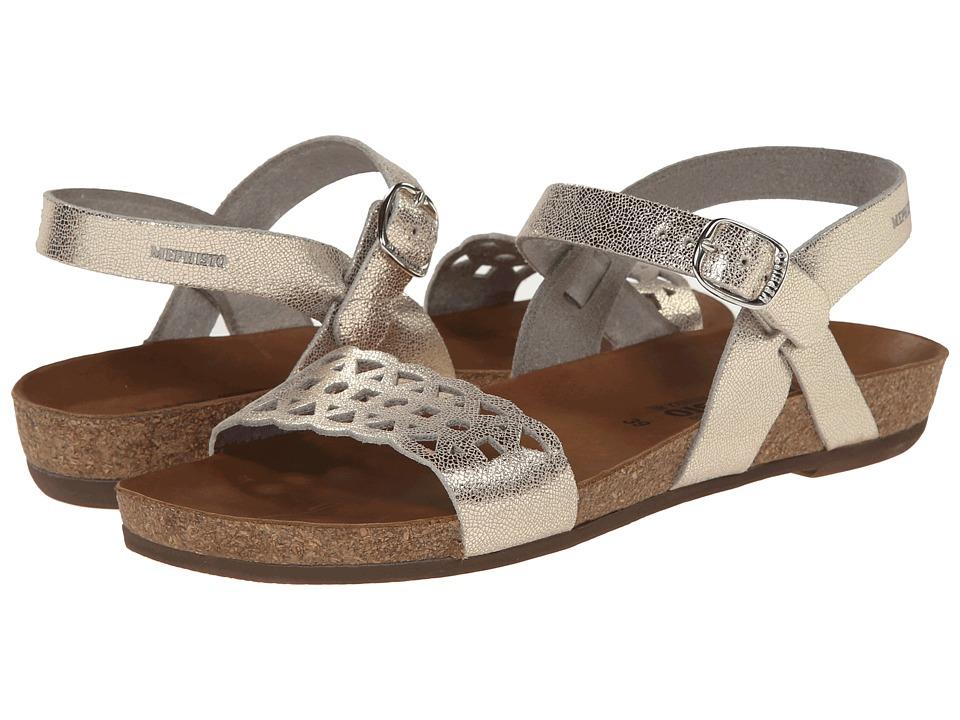 Mephisto - Veronica (Platinum Venise) Women's Toe Open Shoes