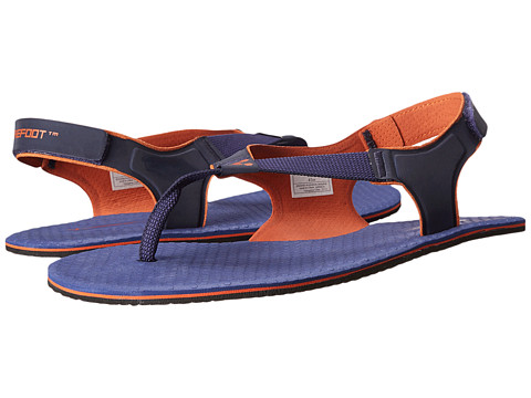 Vivobarefoot - Ulysses (Navy/Orange 3M) Men's Sandals