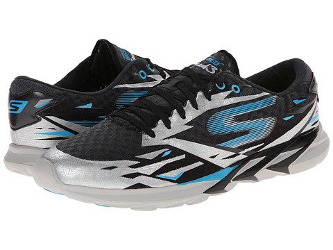 SKECHERS - Go Meb Speed 3 (Black/Blue) Men's Running Shoes