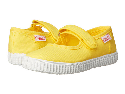 Cienta Kids Shoes - 56000 (Infant/Toddler/Little Kid/Big Kid) (Yellow) Girls Shoes