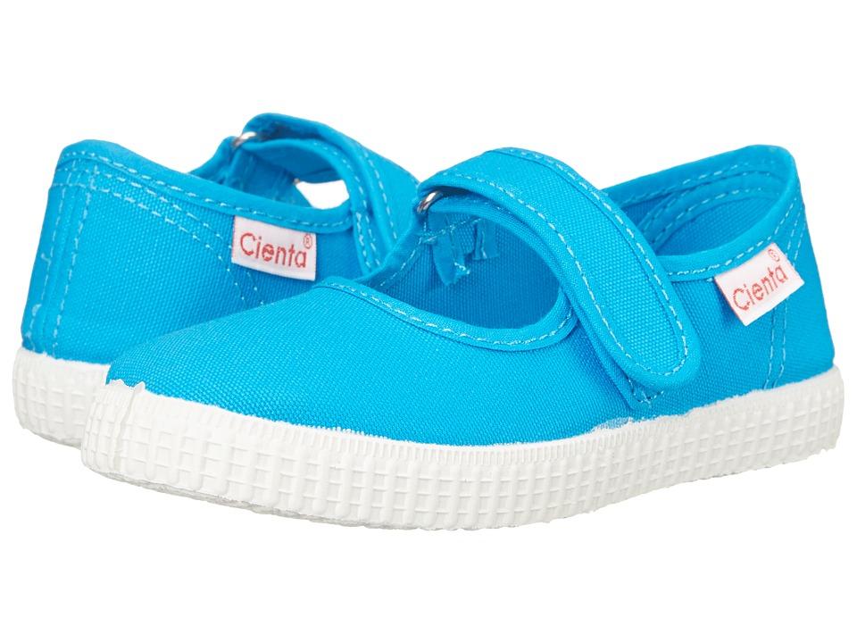 Cienta Kids Shoes - 56000 (Infant/Toddler/Little Kid/Big Kid) (Turquoise) Girls Shoes