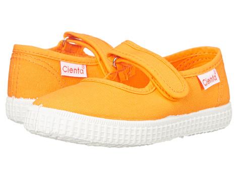 Cienta Kids Shoes - 56000 (Infant/Toddler/Little Kid/Big Kid) (Orange) Girls Shoes