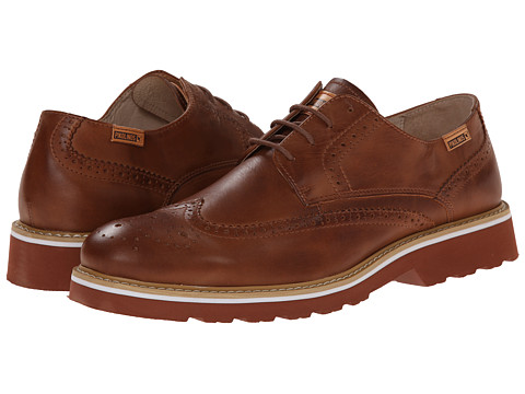 Pikolinos - Glasgow 05M-6222 (Cuero) Men's Lace Up Wing Tip Shoes