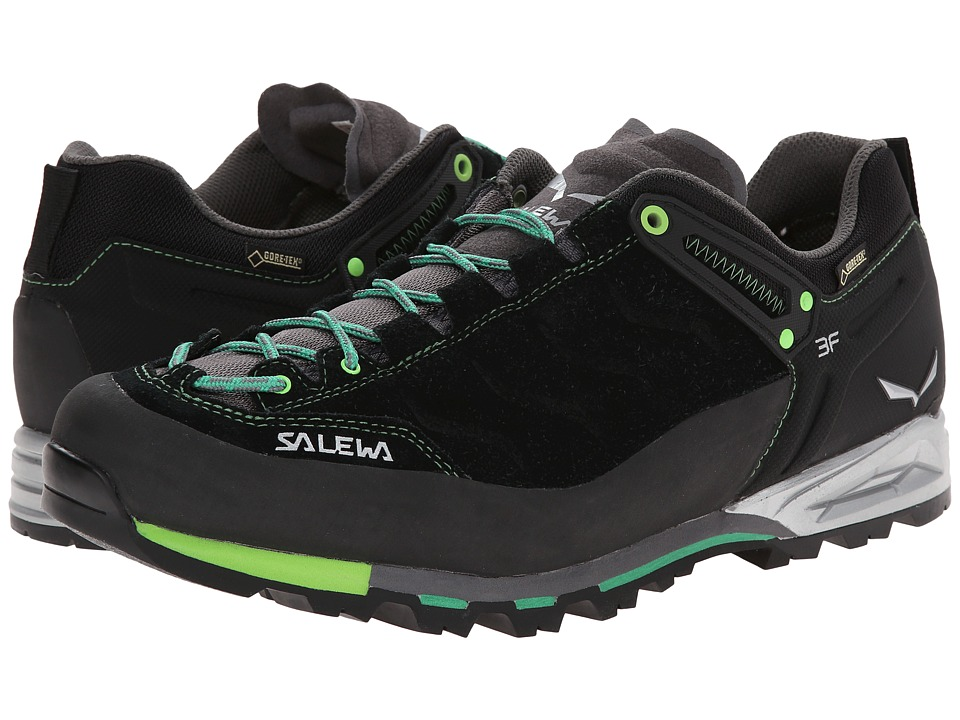 SALEWA - Mountain Trainer GTX (Black/Assenzio) Men's Shoes