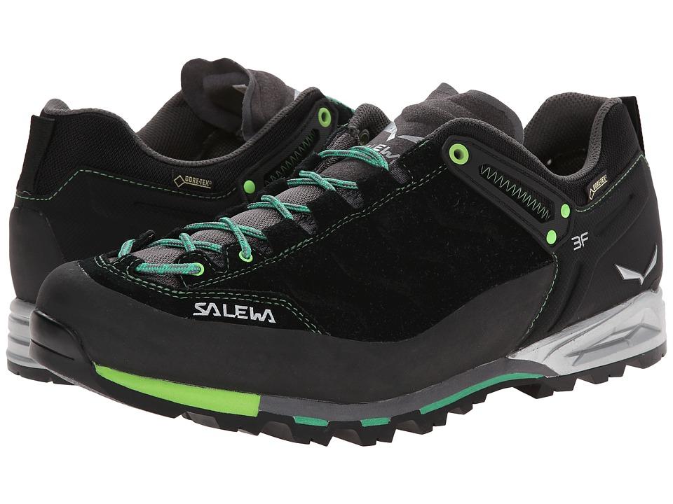 SALEWA - Mountain Trainer GTX (Black/Assenzio) Men's Shoes