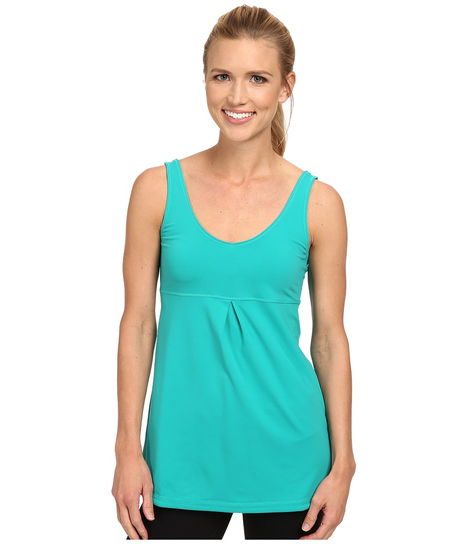 Lucy - Core Up Tunic (Seaweed) Women's Workout