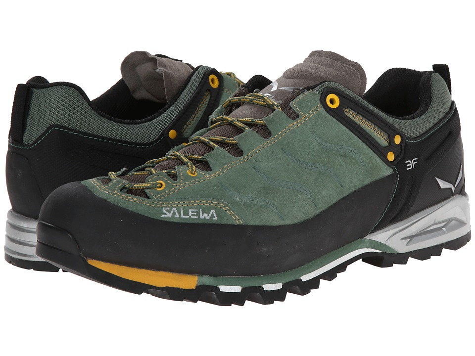 SALEWA - Mountain Trainer (Myrtle/Nugget Gold) Men's Shoes