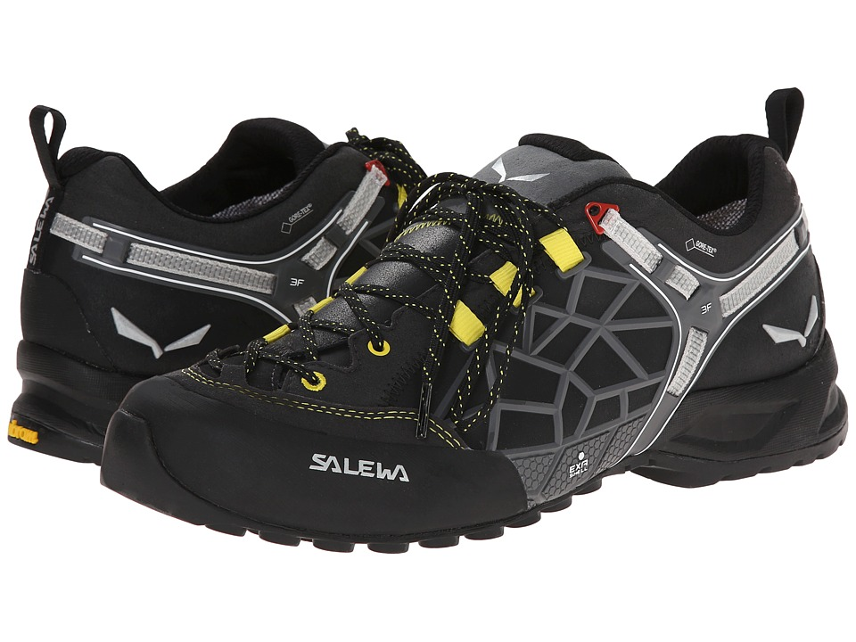 SALEWA - Wildfire Pro GTX (Black Out/Yellow) Men's Shoes