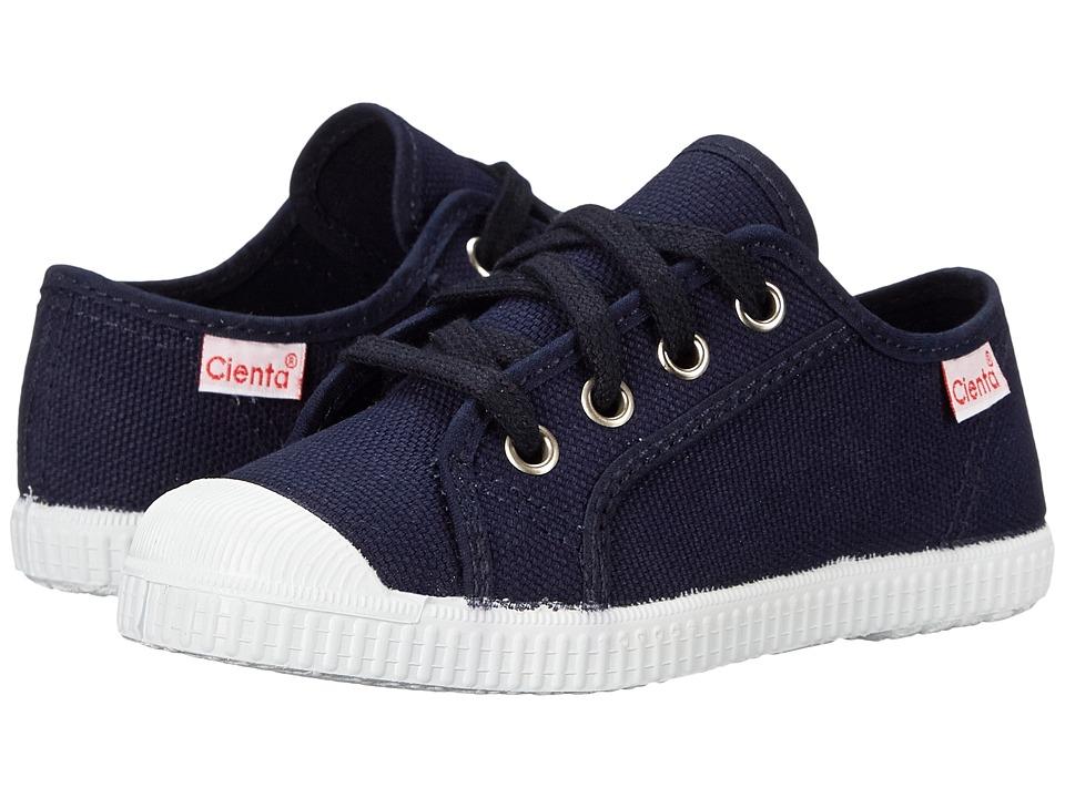 Cienta Kids Shoes - 74020 (Toddler/Little Kid/Big Kid) (Navy) Boy's Shoes