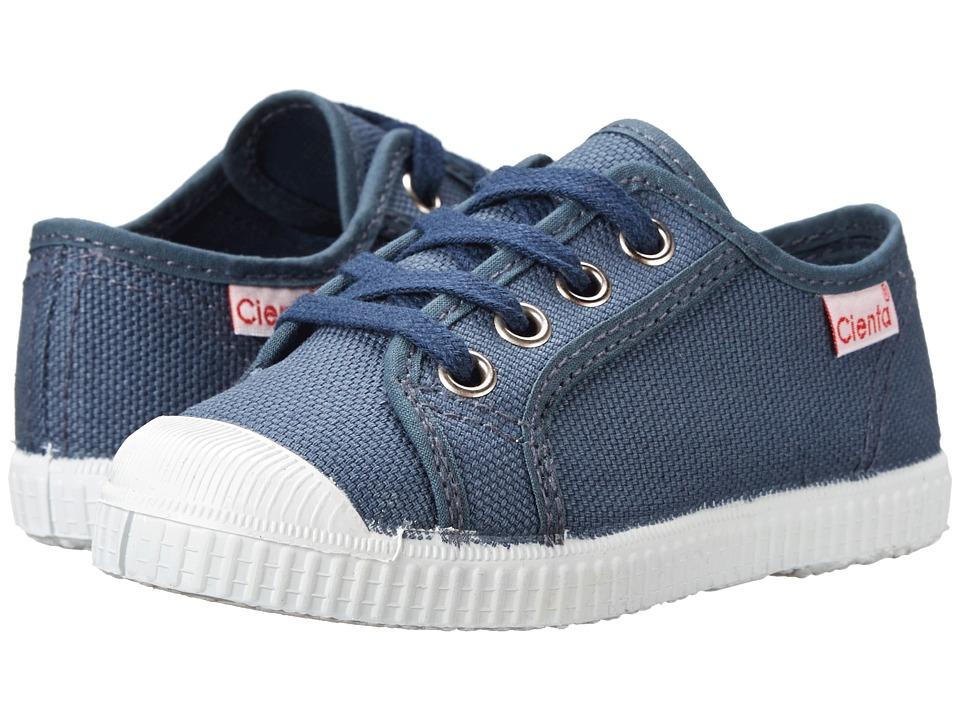 Cienta Kids Shoes - 74020 (Toddler/Little Kid/Big Kid) (Grey) Boy's Shoes