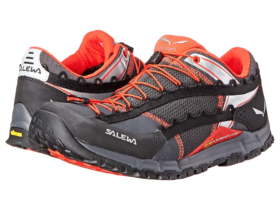 SALEWA - Speed Ascent (Carbon/Flame) Men's Shoes