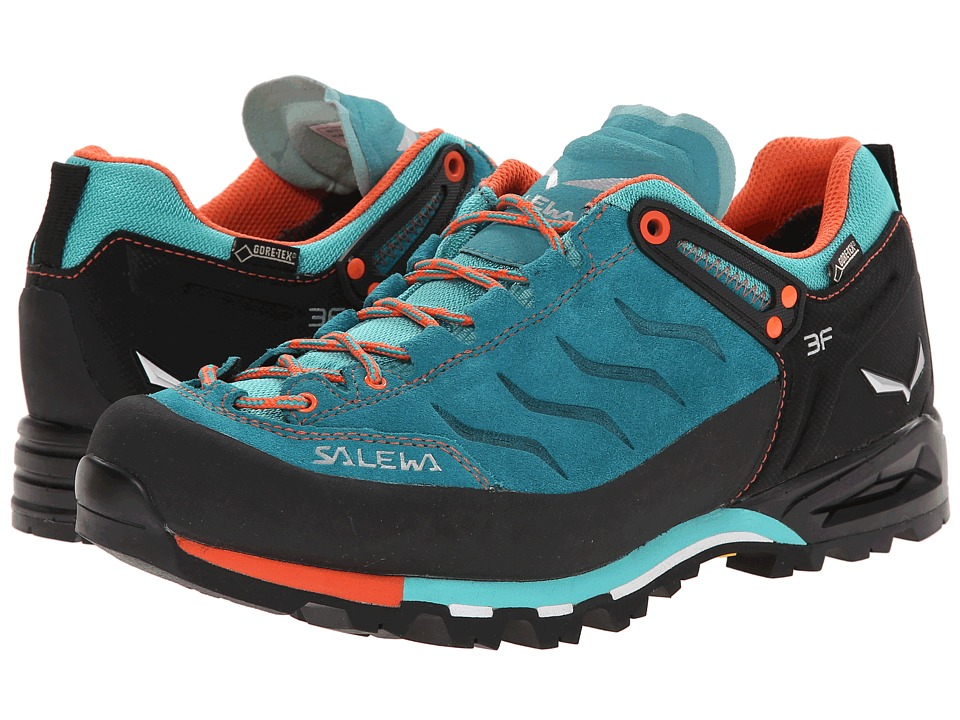 SALEWA - Mountain Trainer GTX (Venom/Tigerlilly) Women's Shoes