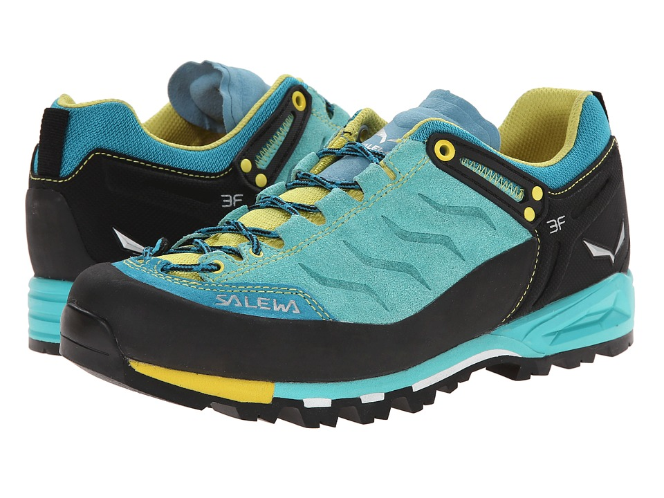 SALEWA - Mountain Trainer (Bright Acqua/Mimosa) Women's Shoes