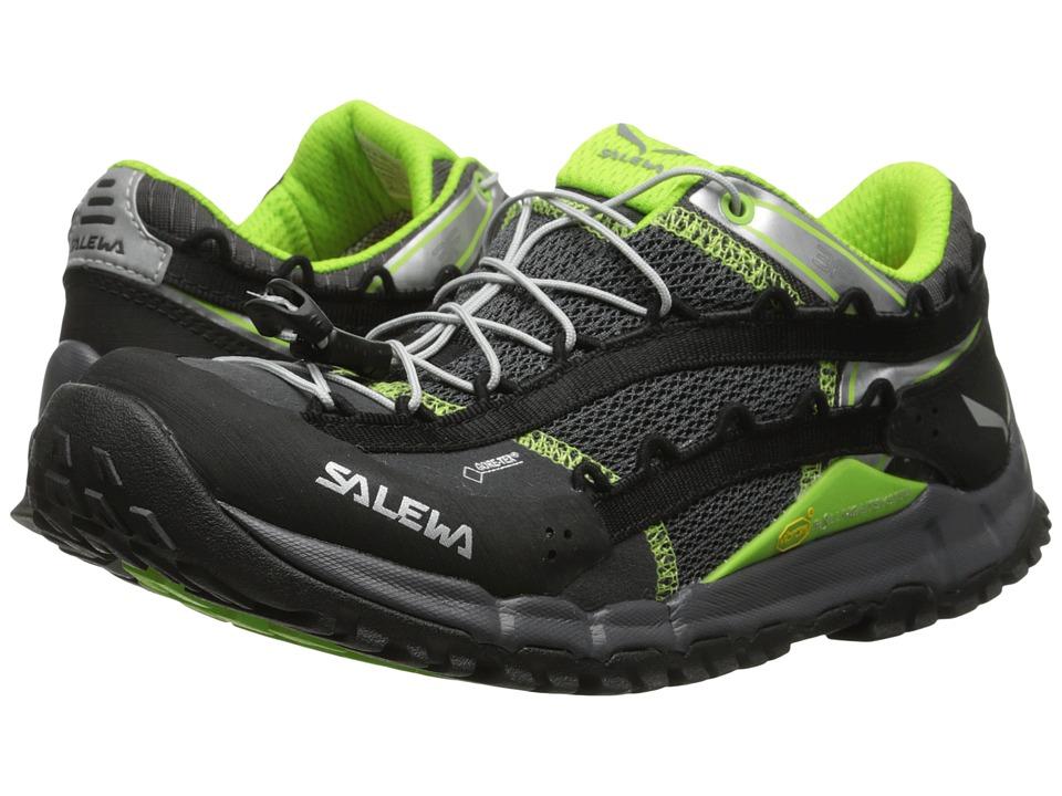 SALEWA - Speed Ascent GTX (Carbon/Emerald) Women's Shoes