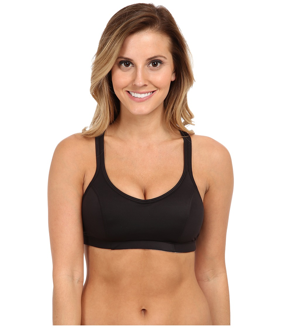 Champion - Champion Shape T-Back Sports Bra (Black) Women's Bra