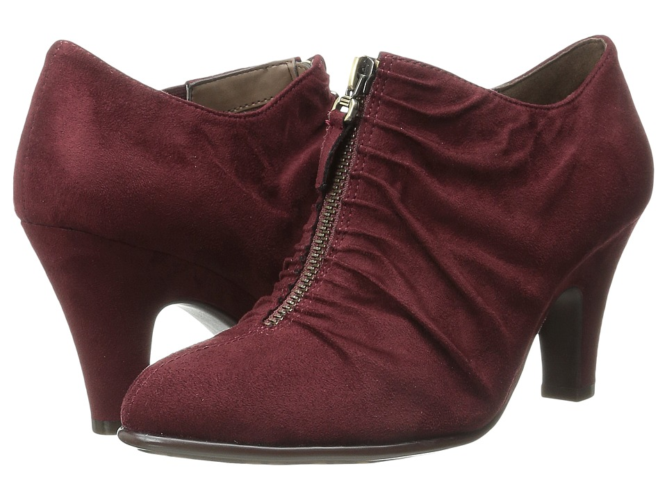 Aerosoles - Jalapeno (Wine) Women's Zip Boots