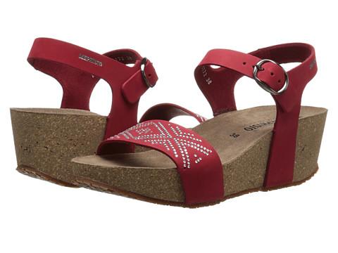 Mephisto - Fanie Sparkling (Red Nubuck) Women's Sandals