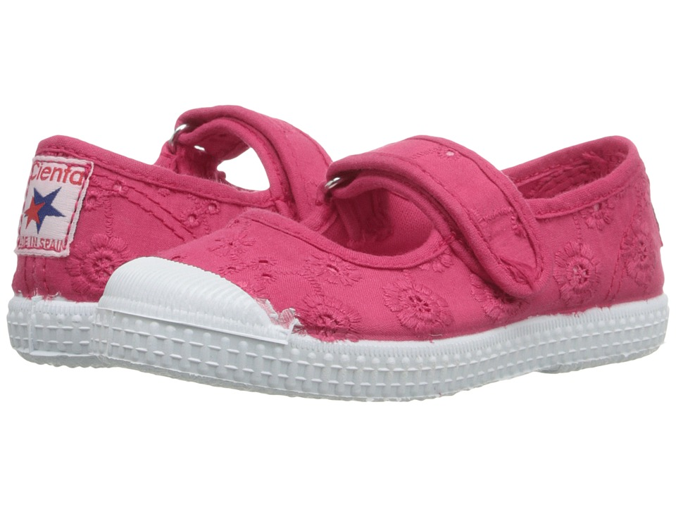 Cienta Kids Shoes - 76998 (Toddler/Little Kid/Big Kid) (Pink) Girl's Shoes
