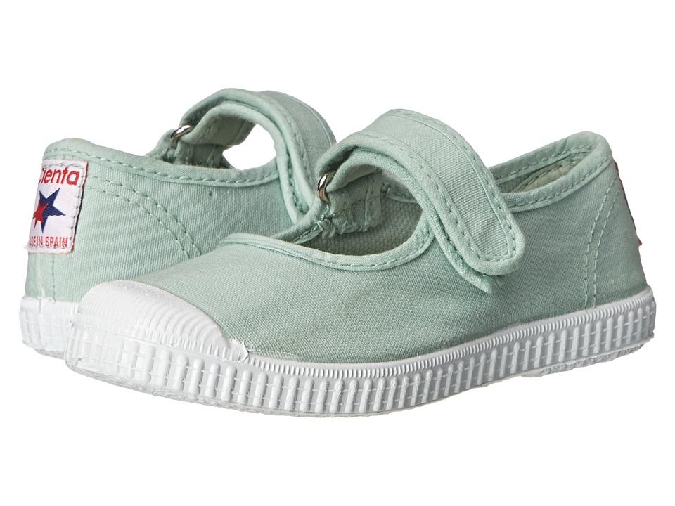 Cienta Kids Shoes - 76997 (Toddler/Little Kid/Big Kid) (Mint) Girls Shoes