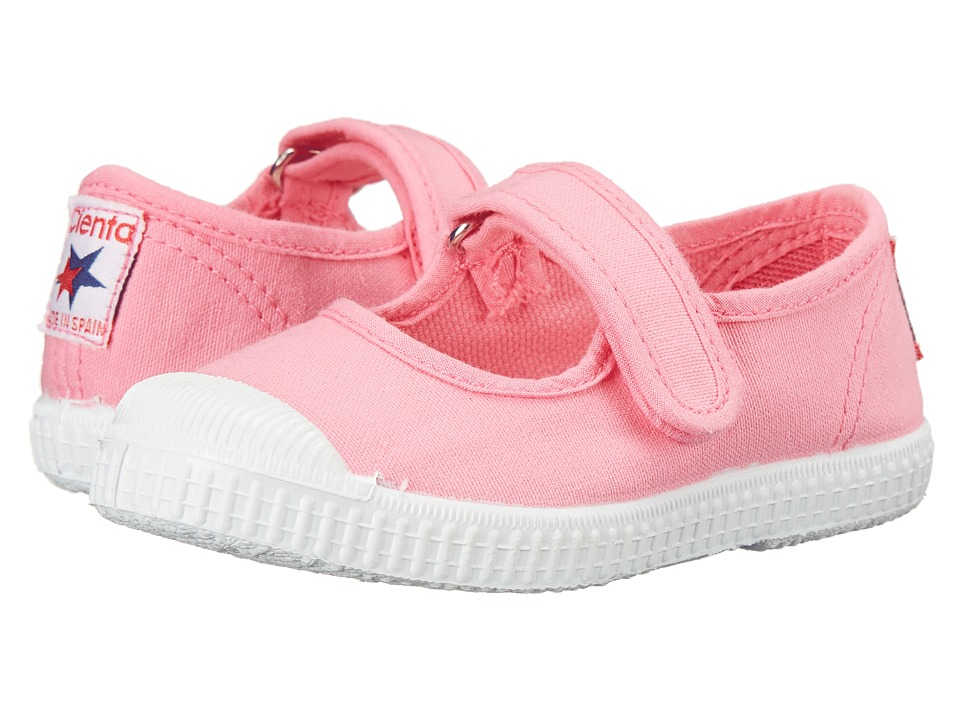Cienta Kids Shoes - 76997 (Toddler/Little Kid/Big Kid) (Coral) Girls Shoes