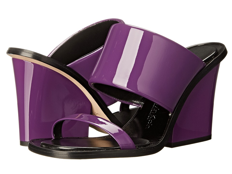Calvin Klein Collection - Cody (Grape) Women's Wedge Shoes