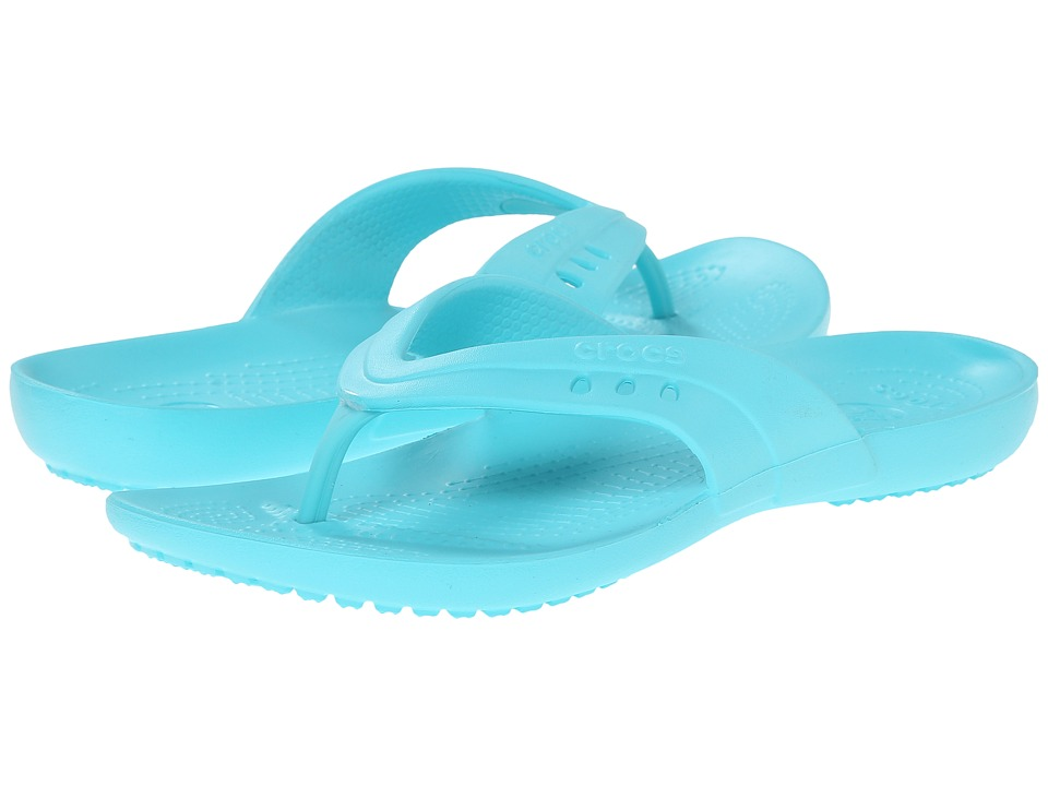 Crocs - Kadee Flip-Flop (Pool) Women's Shoes