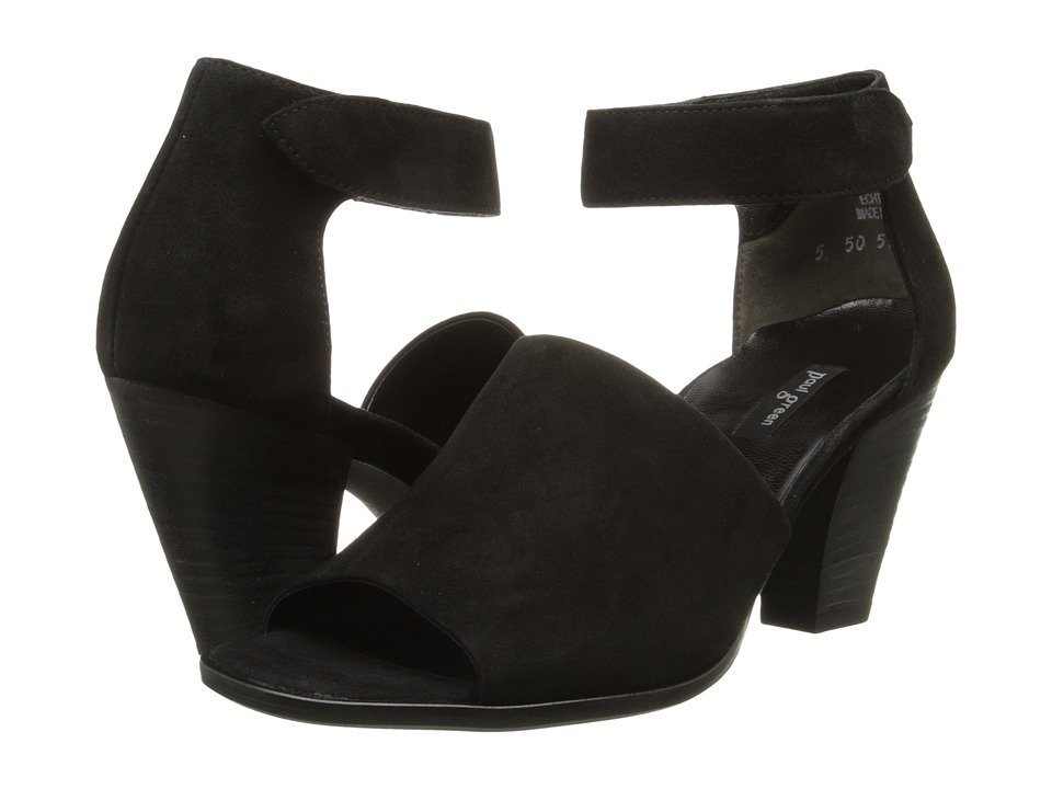 Paul Green - Ciara (Black Suede) High Heels