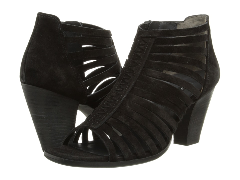Paul Green Cynthia (Black Suede) High Heels