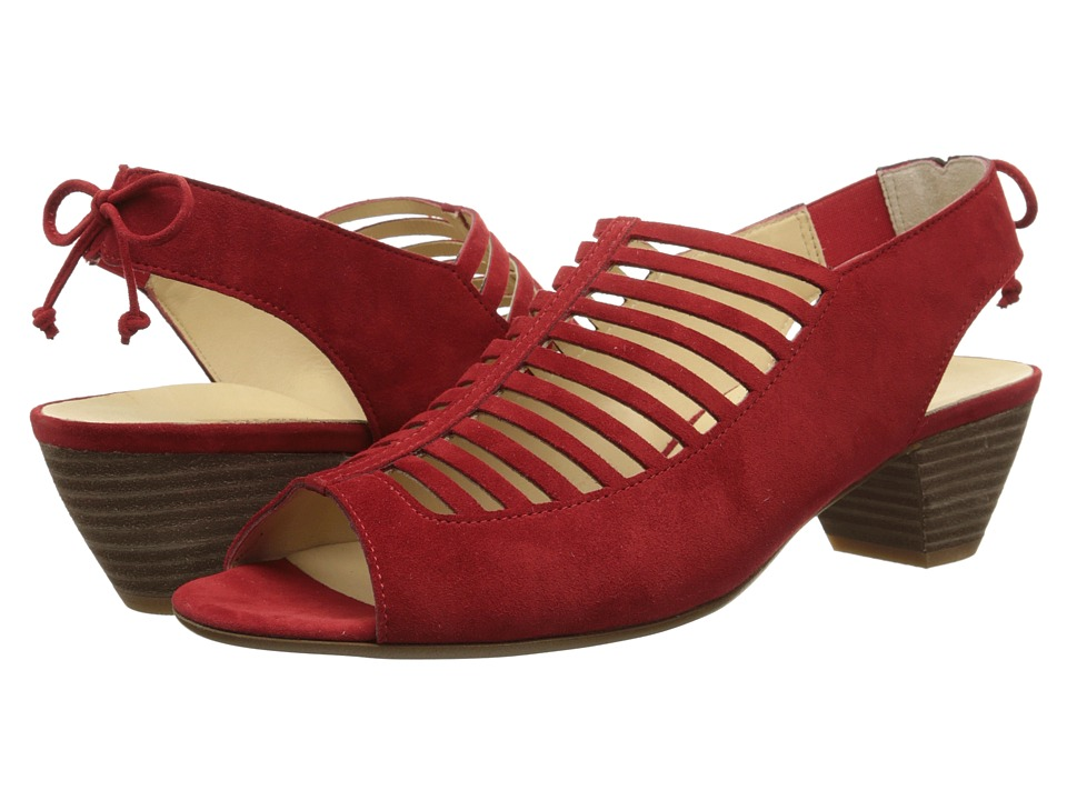 Paul Green Trisha (Red Suede) High Heels