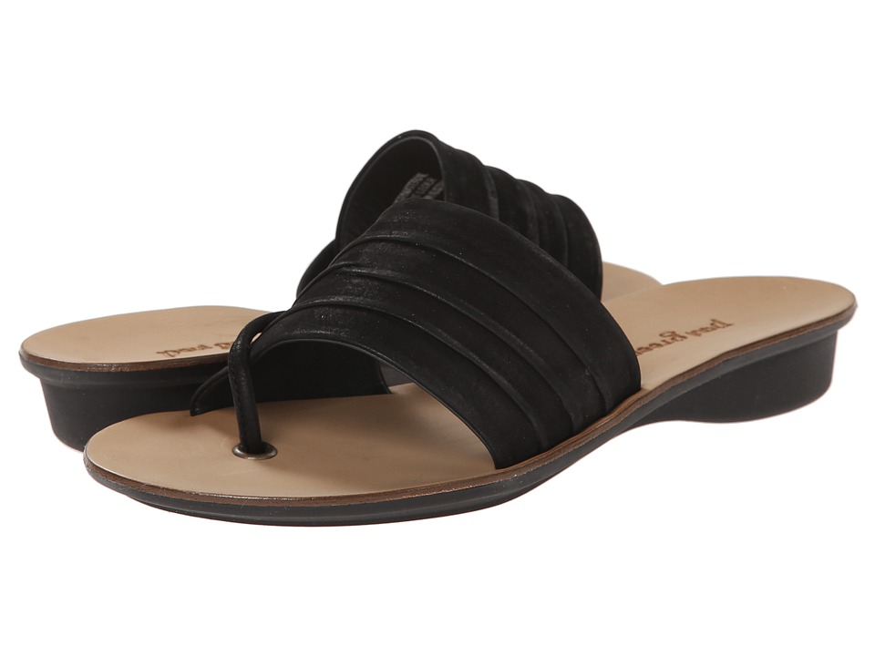 Paul Green - Earthy (Black Nubuck) Women's Sandals