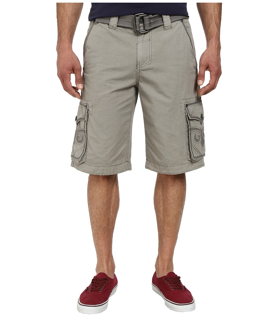 Affliction - Commitment Cargo Short (Cement) Men's Shorts