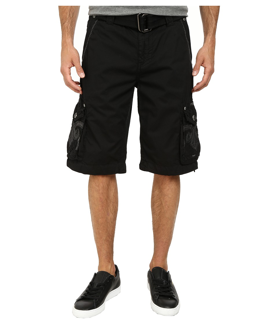 Affliction - Last Days Cargo Short (Black) Men's Shorts