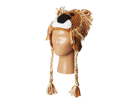 BULA - Puppet Peruvian (Big Kid) (Lion Combo) Knit Hats
