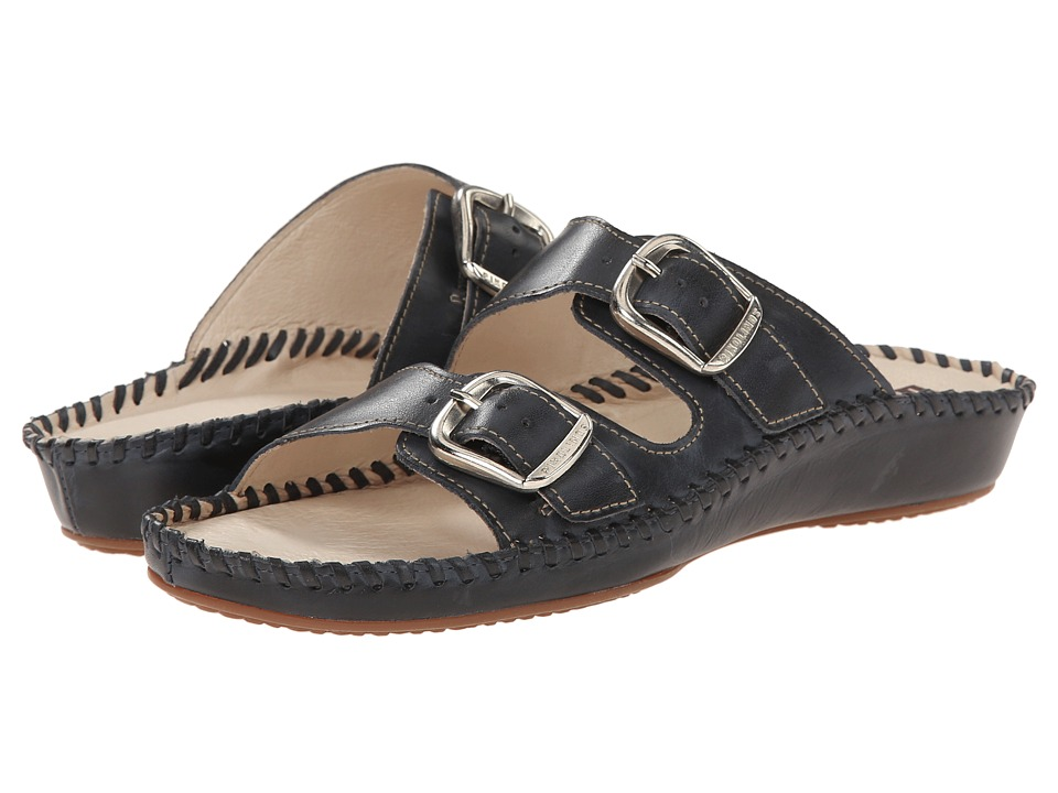 Pikolinos - Puerto Vallarta 655-0609 (Navy) Women's Shoes